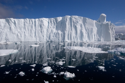 Ilulissat Glacier in Greenland